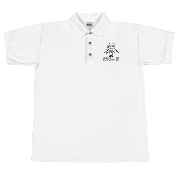 Deviant Coin / DEV OBL Polo T-Shirts  - Crypto & Proud
