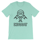 Deviant Coin / DEV OBL T-Shirt Premium-Heather Mint- Crypto & Proud