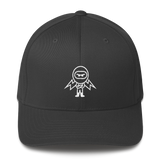Deviant Coin / DEV OW LW Fit Cap-Dark Grey- Crypto & Proud