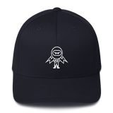Deviant Coin / DEV OW LW Fit Cap-Dark Navy- Crypto & Proud