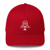 Deviant Coin / DEV OW LW Fit Cap-Red- Crypto & Proud