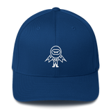 Deviant Coin / DEV OW LW Fit Cap-Royal Blue- Crypto & Proud