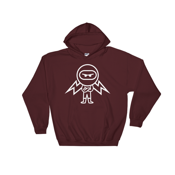 Deviant Coin / DEV OW LW Hoodie-Maroon- Crypto & Proud