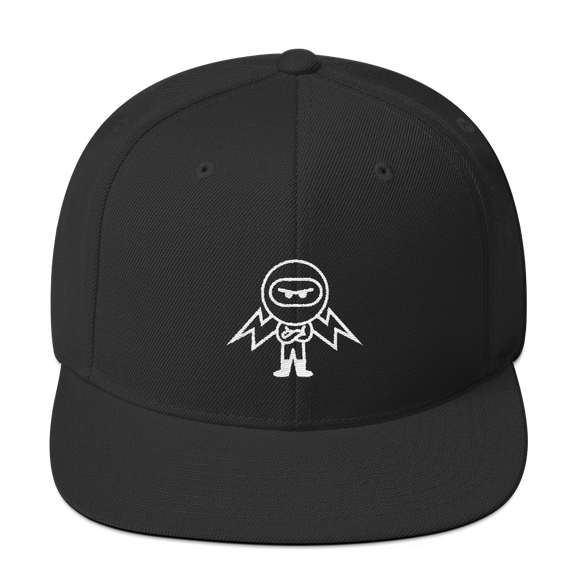 Deviant Coin / DEV OW LW Snapback Hat-Black- Crypto & Proud