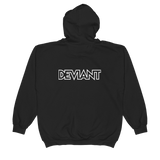 Deviant Coin / DEV OW LW Zip Hoodie   - Crypto & Proud
