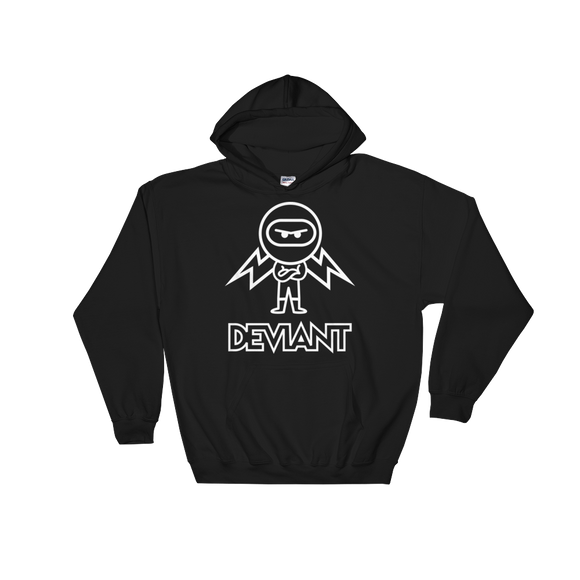 Deviant Coin / DEV OWL Hoodie-Black- Crypto & Proud