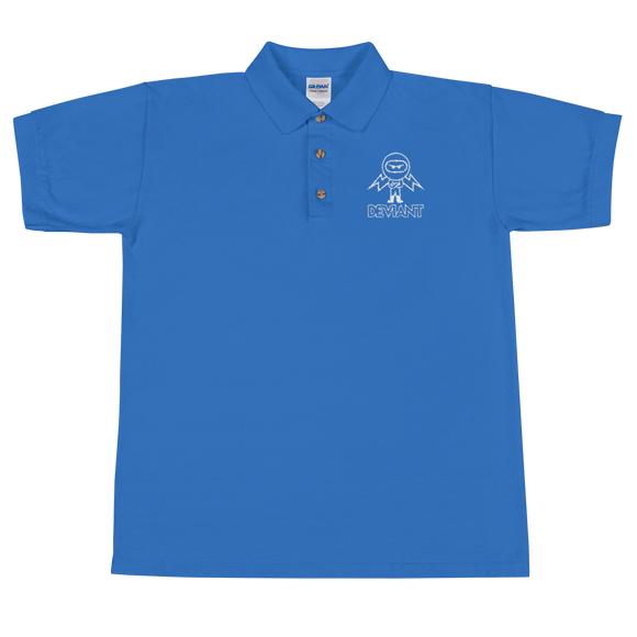 Deviant Coin / DEV OWL Polo T-Shirts  - Crypto & Proud