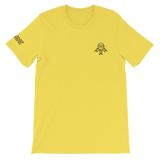 Deviant Coin / DEV SOB LB T-Shirt Premium-Yellow- Crypto & Proud