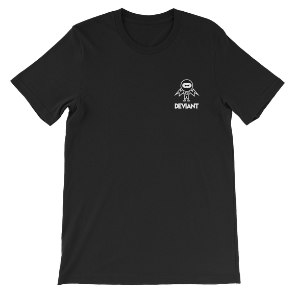 Deviant Coin / DEV SWBL T-Shirt Premium-Black- Crypto & Proud