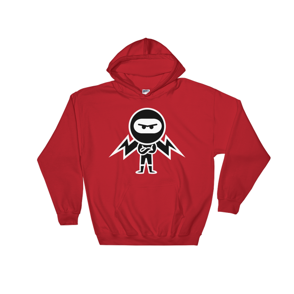Deviant Coin / DEV WB LW Hoodie-Red- Crypto & Proud