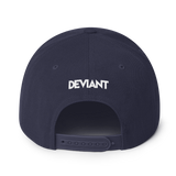 Deviant Coin / DEV WB LW Snapback Hat- Crypto & Proud