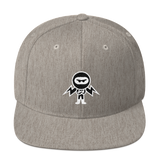 Deviant Coin / DEV WB LW Snapback Hat-Heather Grey- Crypto & Proud