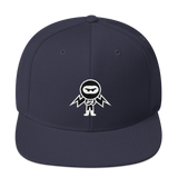 Deviant Coin / DEV WB LW Snapback Hat-Navy- Crypto & Proud