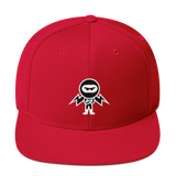 Deviant Coin / DEV WB LW Snapback Hat-Red- Crypto & Proud