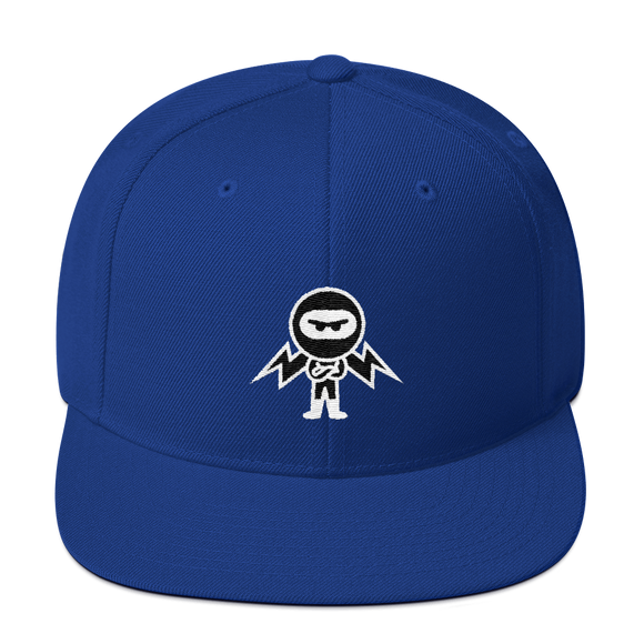 Deviant Coin / DEV WB LW Snapback Hat-Royal Blue- Crypto & Proud