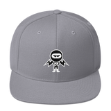Deviant Coin / DEV WB LW Snapback Hat-Silver- Crypto & Proud