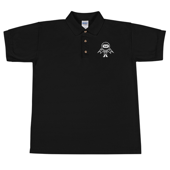 Deviant Coin / DEV WB Polo T-Shirts  - Crypto & Proud