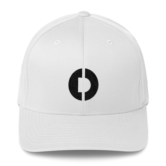 Digitex / DGTX B LB Fit Cap-White- Crypto & Proud