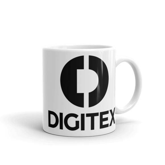 Digitex / DGTX BL Mug-11oz- Crypto & Proud