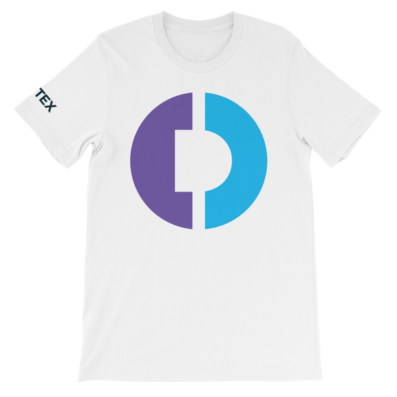 Digitex / DGTX C LC T-Shirt Premium-White- Crypto & Proud