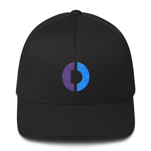 Digitex / DGTX C LW Fit Cap-Black- Crypto & Proud