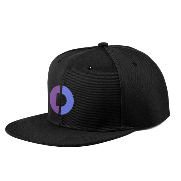 Digitex / DGTX C LW Snapback Hat- Crypto & Proud