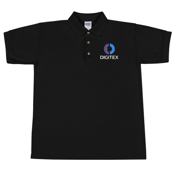 Digitex / DGTX CWL Polo-Black- Crypto & Proud