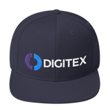 Digitex / DGTX CWLH Snapback Hat-Navy- Crypto & Proud