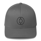 Digitex / DGTX OB LB Fit Cap-Grey- Crypto & Proud