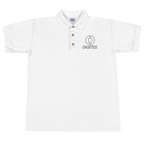 Digitex / DGTX OBL Polo-White- Crypto & Proud