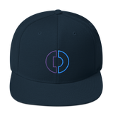 Digitex / DGTX OC LW Snapback Hat-Dark Navy- Crypto & Proud
