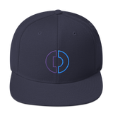 Digitex / DGTX OC LW Snapback Hat-Navy- Crypto & Proud