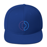 Digitex / DGTX OC LW Snapback Hat-Royal Blue- Crypto & Proud