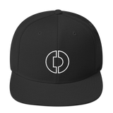 Digitex / DGTX OW LW Snapback Hat-Black- Crypto & Proud