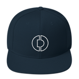 Digitex / DGTX OW LW Snapback Hat-Dark Navy- Crypto & Proud