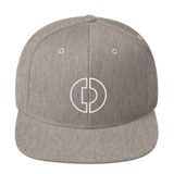 Digitex / DGTX OW LW Snapback Hat-Heather Grey- Crypto & Proud