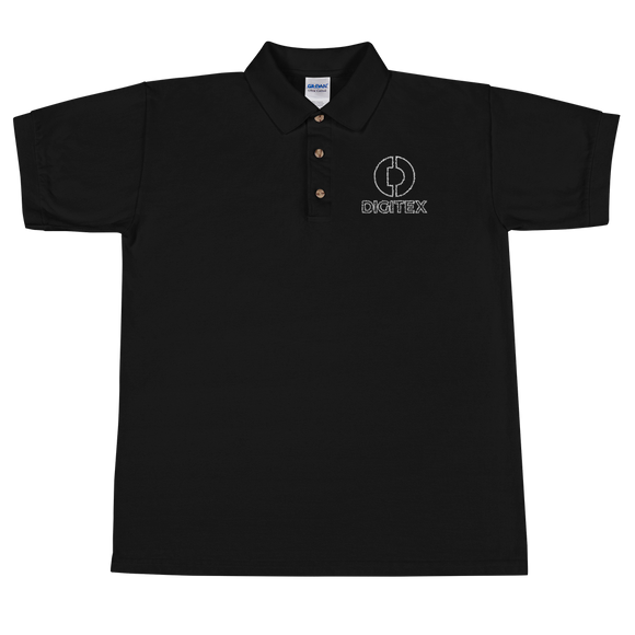 Digitex / DGTX OWL Polo-Black- Crypto & Proud