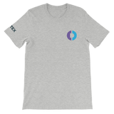 Digitex / DGTX SC LC T-Shirt Premium-Athletic Heather- Crypto & Proud