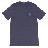 Digitex / DGTX SCWL T-Shirt Premium-Heather Midnight Navy- Crypto & Proud