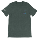Digitex / DGTX SOC LW T-Shirt Premium-Heather Forest- Crypto & Proud