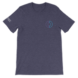 Digitex / DGTX SOC LW T-Shirt Premium-Heather Midnight Navy- Crypto & Proud