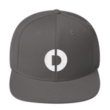 Digitex / DGTX W LW Snapback Hat-Dark Grey- Crypto & Proud