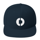 Digitex / DGTX W LW Snapback Hat-Dark Navy- Crypto & Proud