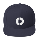 Digitex / DGTX W LW Snapback Hat-Navy- Crypto & Proud