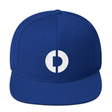 Digitex / DGTX W LW Snapback Hat-Royal Blue- Crypto & Proud