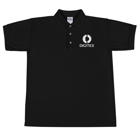 Digitex / DGTX WL Polo-Black- Crypto & Proud