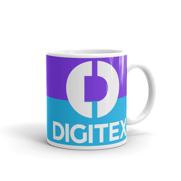 Digitex / DGTX WLC Mug-11oz- Crypto & Proud