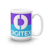 Digitex / DGTX WLC Mug-15oz- Crypto & Proud