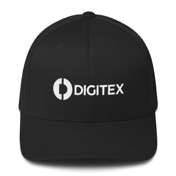 Digitex / DGTX WLH Fit Cap-Black- Crypto & Proud