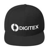 Digitex / DGTX WLH Snapback Hat-Black- Crypto & Proud